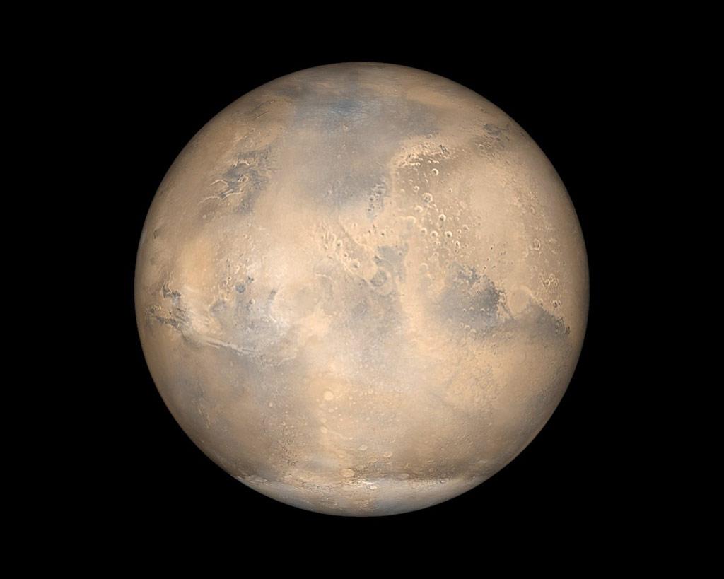 火星大接近ってどれぐらい近くに来るの?普段の7倍の大きさで見えます。